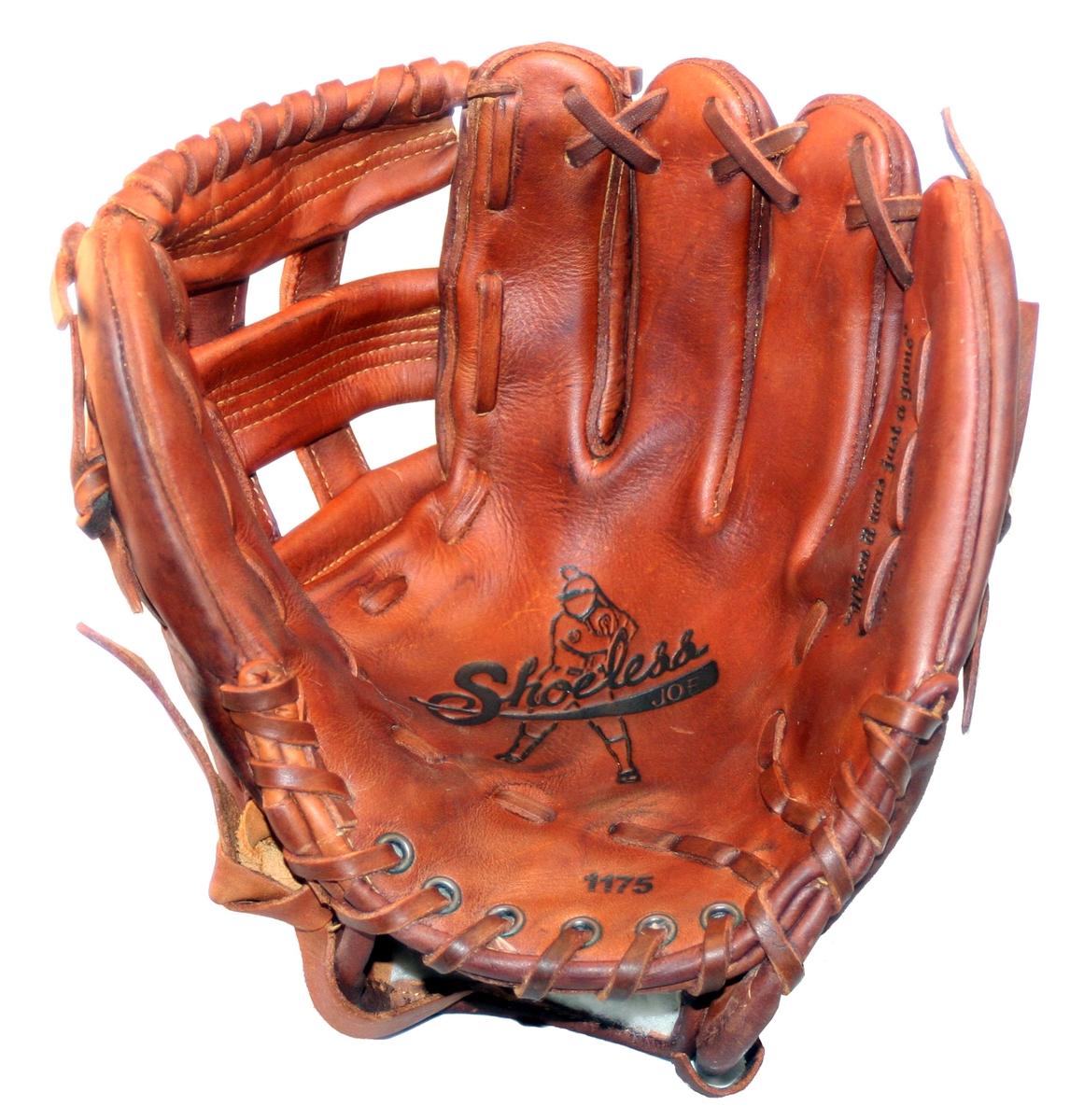 11 34quot h web shoeless joe baseball glove