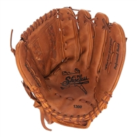 "13"" Fast Pitch Softball Basket Weave Pocket Glove"
