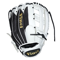 "Vinci Mesh Series BMB-OB White with Black Mesh 13"" Fielders Glove"