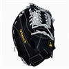 Vinci Limited Series CBW413 Black with White Lace 13 Inch First Base Mitt