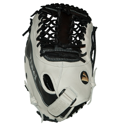 Vinci Limited Series CBW413 White/Black 13 Inch First Base Mitt