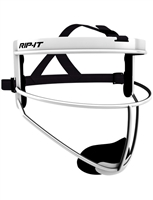 RIP-IT Defense Pro White Fielders Mask