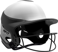 Gloss Vision Pro Fastpitch Softball Helmet Black / Home