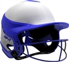 Gloss Vision Pro Fastpitch Softball Helmet Royal / Home