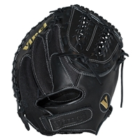 "Vinci Mesh Series JCV34 Black with Black Mesh 34"" Fastpitch Catcher's Mitt"