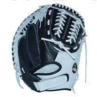 "Vinci Mesh Series JCV34 Black & White with Black Mesh 34"" Fastpitch Catcher's Mitt"