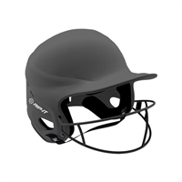 Matte Charcoal Vision Pro Fastpitch Softball Helmet