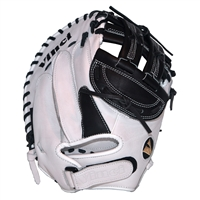 "Vinci PC Series JCV-PC Black & White 33"" Fastpitch Catcher's Mitt"