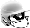 RIP-It Matte White Vision Pro Fastpitch Softball Helmet