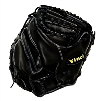 "Vinci Limited Series SW1979-L Black 33"" Baseball Catchers Mitt"