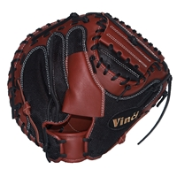 "Vinci Mesh Series SW79-M Rich Brown with Black Mesh 33.5"" Baseball Catchers Mitt"